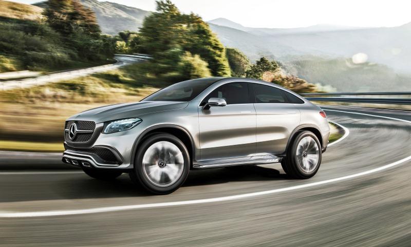 Mercedes-Benz unveils Concept Coupe SUV