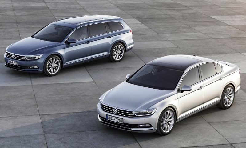New Volkswagen Passat for 2014