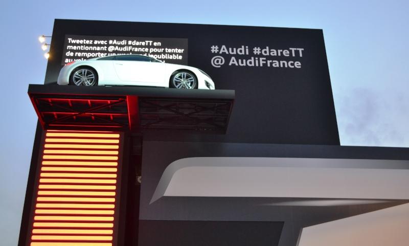 New Audi TT at the Paris Motor Show