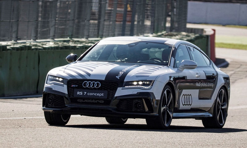 Audi RS7 driverless concept