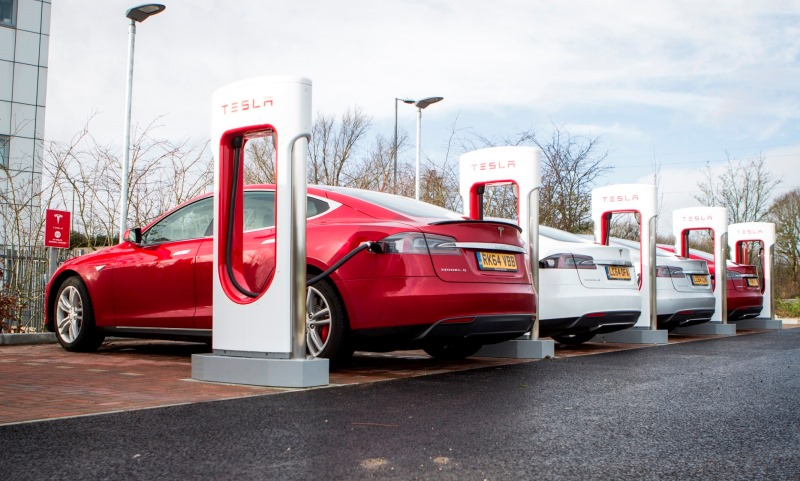 Tesla's Maidstone Supercharger