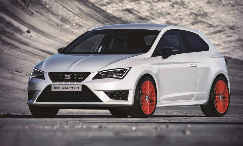 Leon SC CUPRA 280 fitted with new Ultimate Sub8 Performance Pack