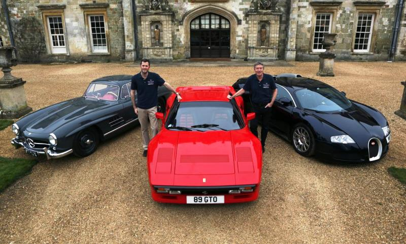 Tiff Needell and Lord Pembroke at Wilton House
