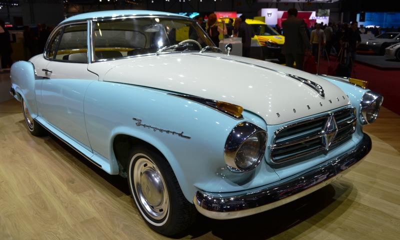1950s Borgward Isabella Coupe