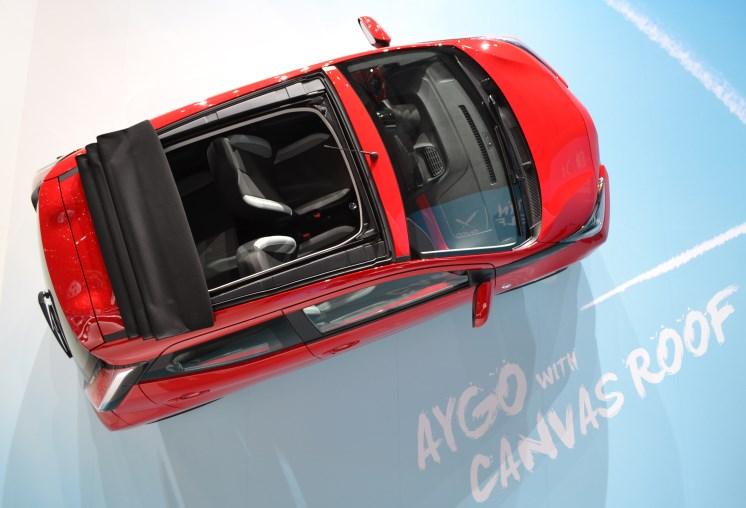Topless Toyota Aygo
