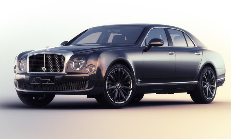 Bentley Mulsanne Speed 'Blue Train' by Mulliner