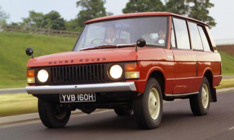 1970 Range Rover launch