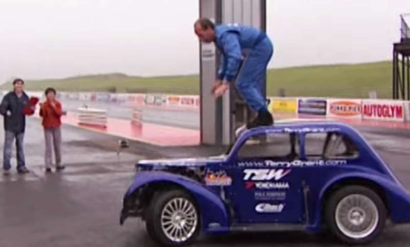 Car donuts world record