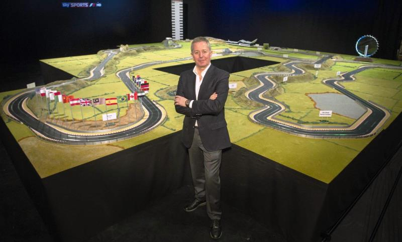 Martin Brundle's ultimate Scalextric