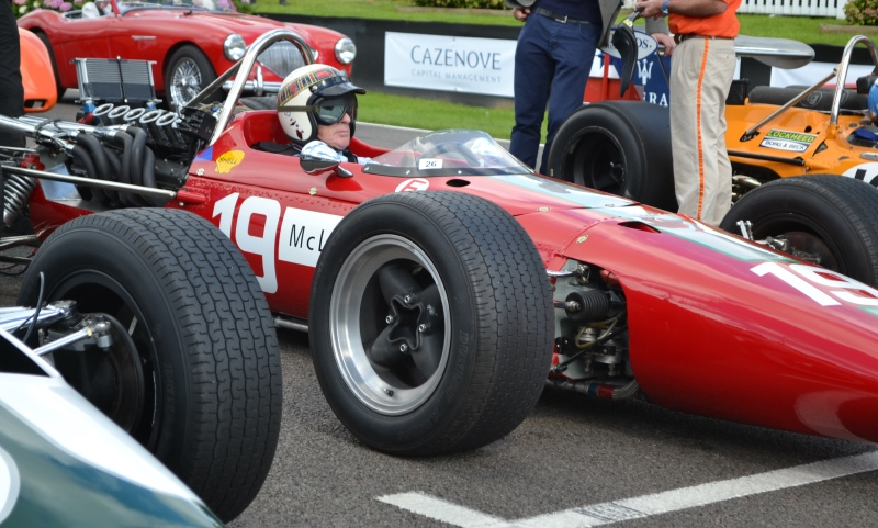 Jackie Stewart at the Goodwood Revival