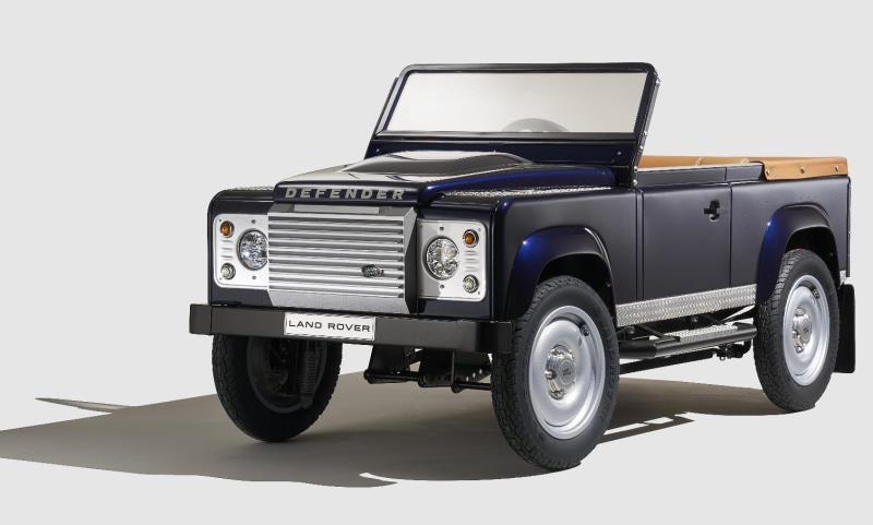 Land Rover pedal car