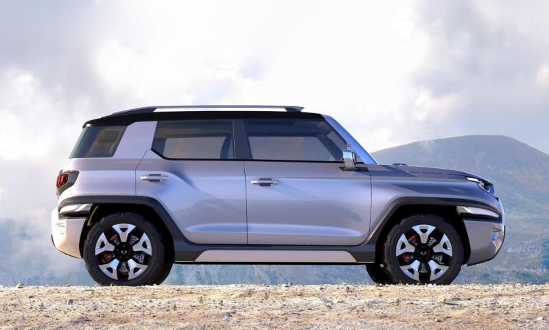 SsangYong XAV-Adventure compact SUV concept