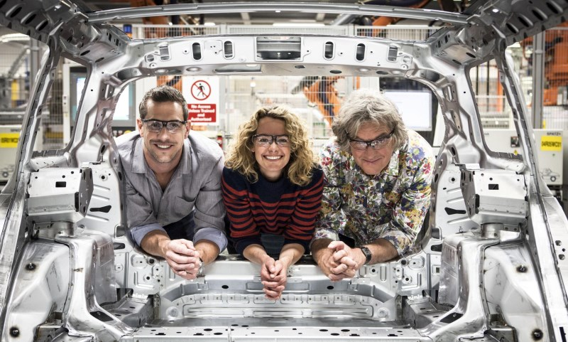 Building Cars Live with Kate Humble, James May and Ant Antstead