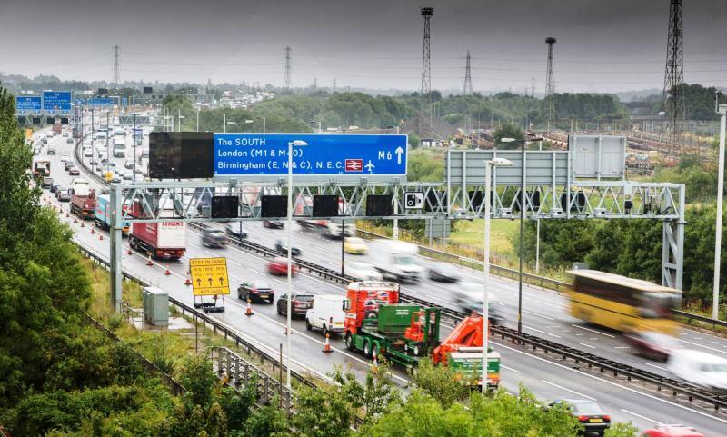 Motorway traffic (credit RAC)
