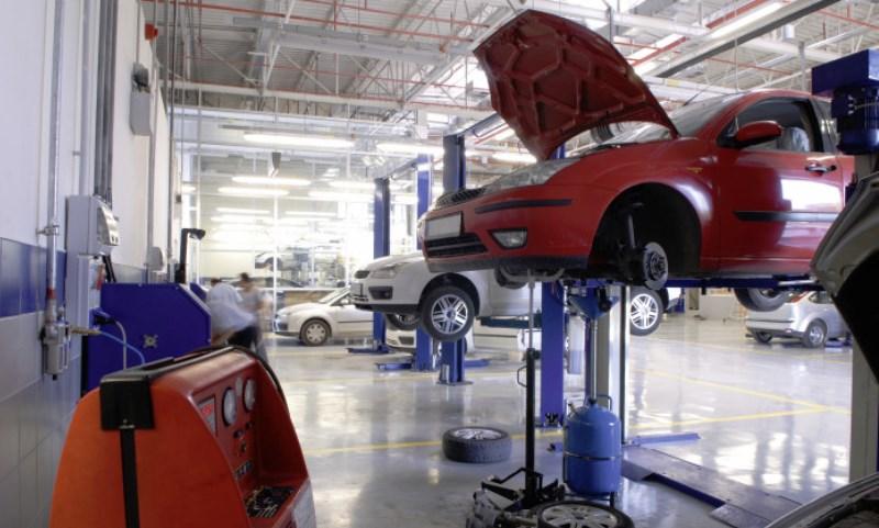 Garage servicing