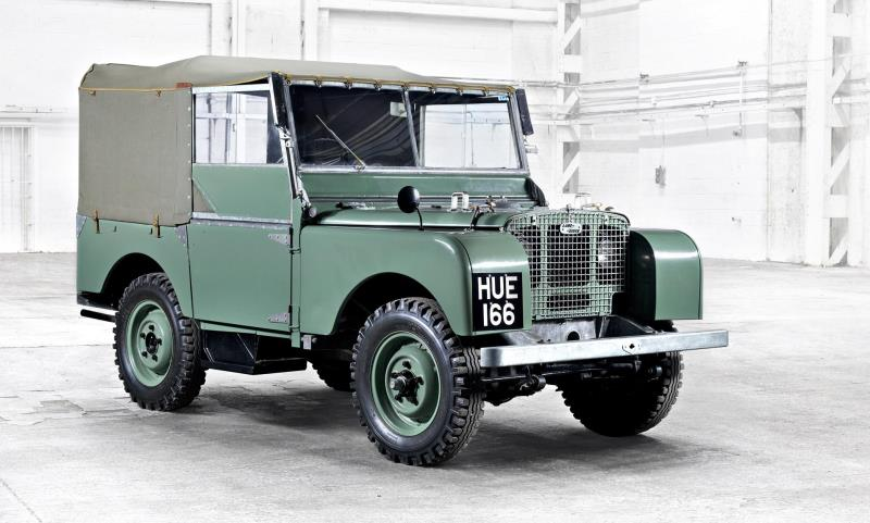 First Land Rover - Hue 166