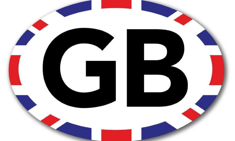 GB sticker