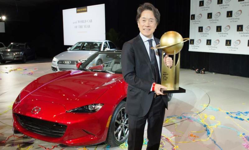 Mazda MX-5 World Car of the Year 2016