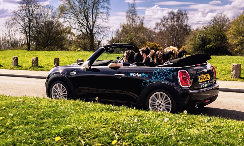 DriveNow MINI Convertible car share