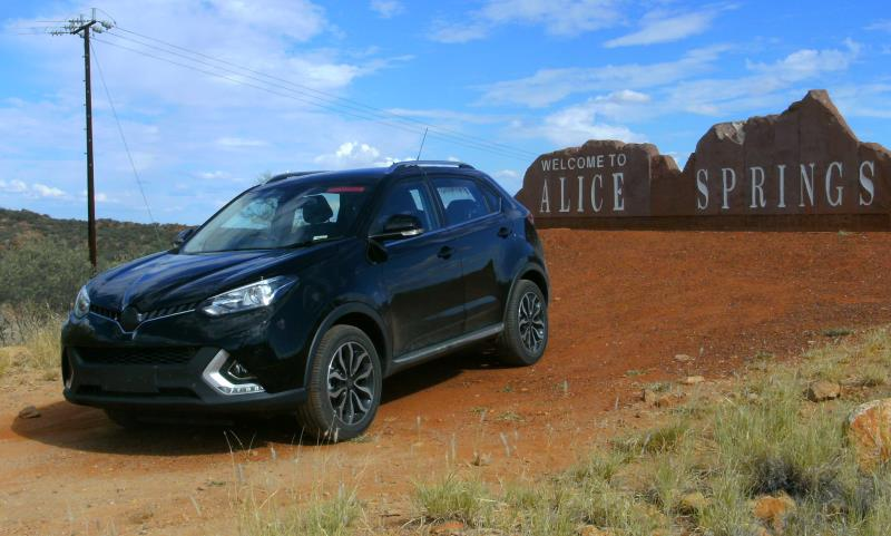 New MG GS SUV on test in Australia