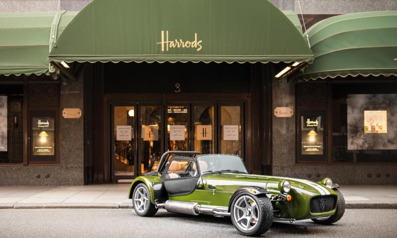 Special edition Harrods Caterham