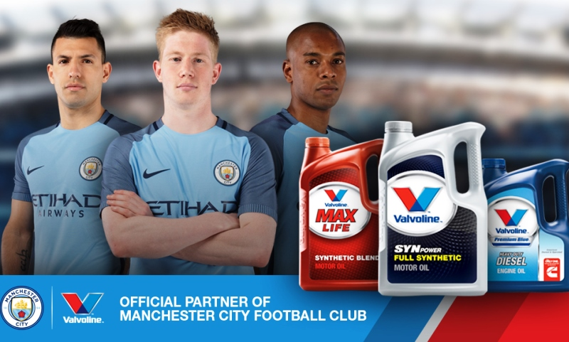 Valvoline and Manchester City sign deal