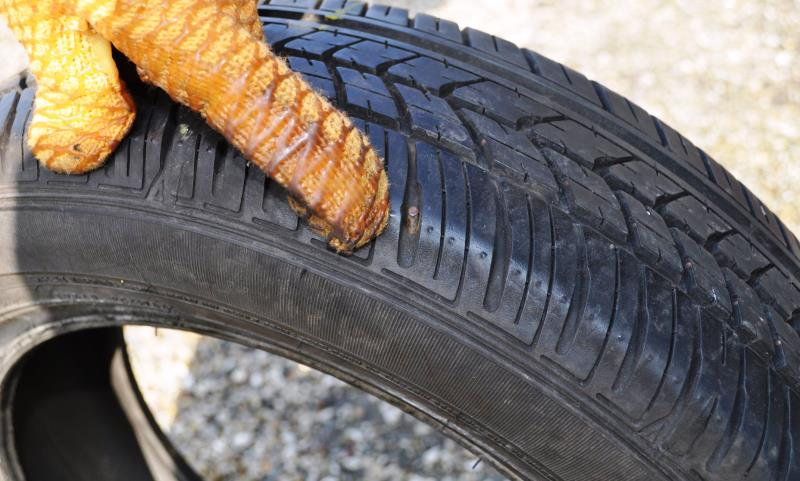 defective tyre