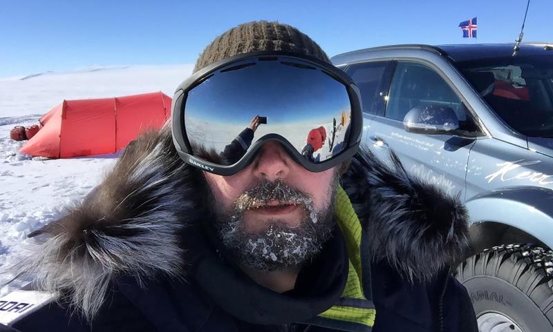 Hyundai Santa Fe conquers the Antarctic driven by Great Grandson of Sir Ernest Shackleton