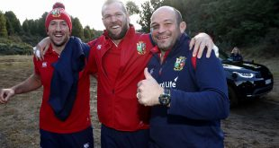 British and Irish Lions - Rory Best, Rhys Webb and Jonathan Joseph