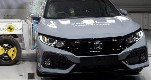 Honda Civic - side crash test Nov 2017