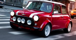 One-off 100% electric classic Mini
