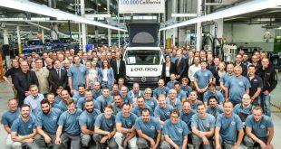 VW California camper van 100,000 celebration