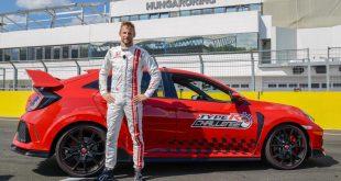 Jenson Button - Honda Civic Type R