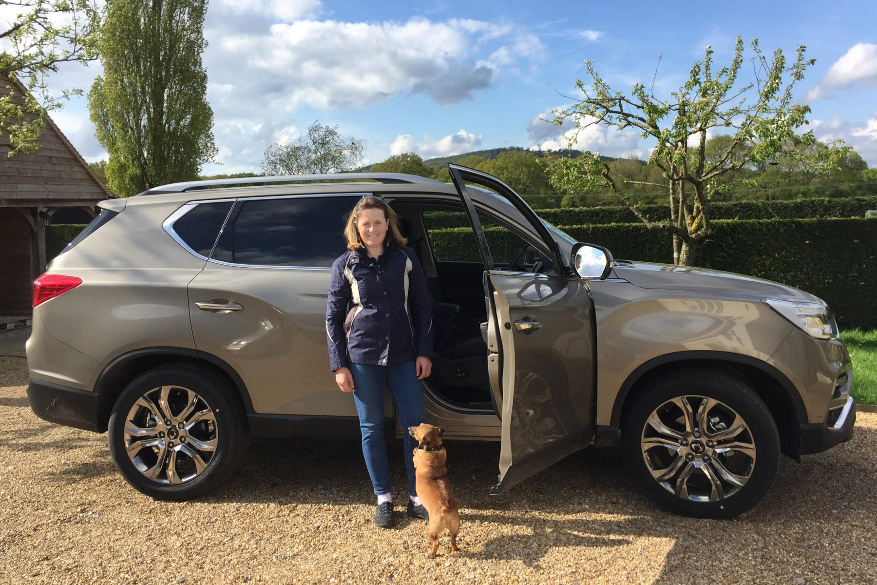 Pippa Funnell SsangYong Rexton