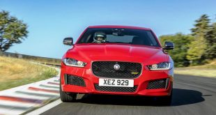 Jaguar XE 300 Sport sets lap record at forgotten Grand Prix circuit in France