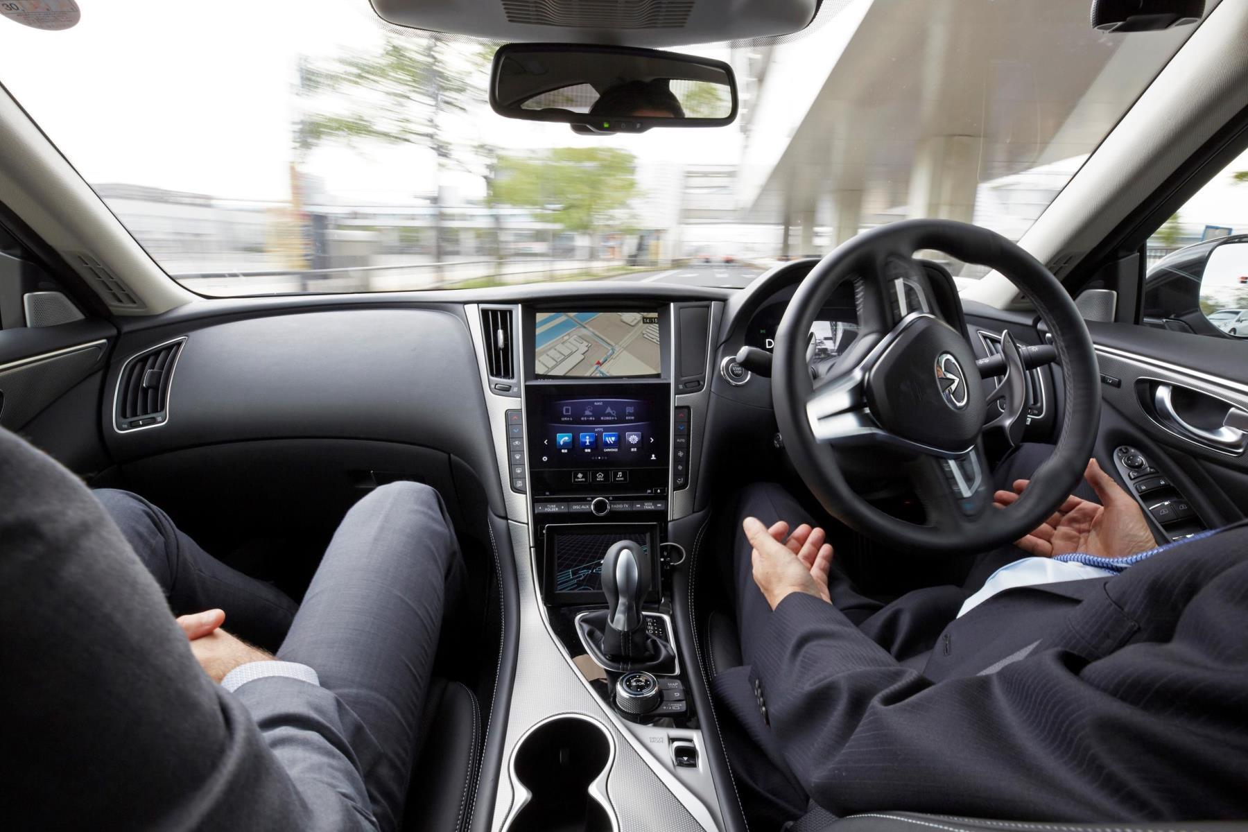 Nissan's autonomous driving prototype