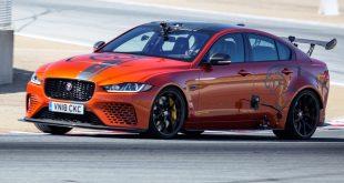 Record-breaking Jaguar XE SV Project 8 at Laguna Seca