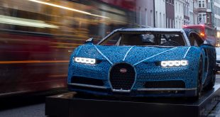 One-of-a-kind life-size LEGO Technic Bugatti Chiron in London