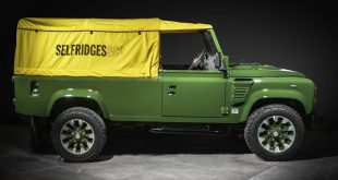 One-off Land Rover Defender hits the 'Designer Street' in Selfridges