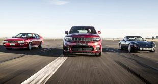 Jeep Grand Cherokee Trackhawk vs Audi Quattro and TVR Griffith