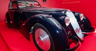 1937 ALFA ROMEO 8C 2900B BERLINETTA named winner of The Peninsula Classics Best of the Best Award