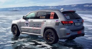 Jeep Grand Cherokee Trackhawk speed record