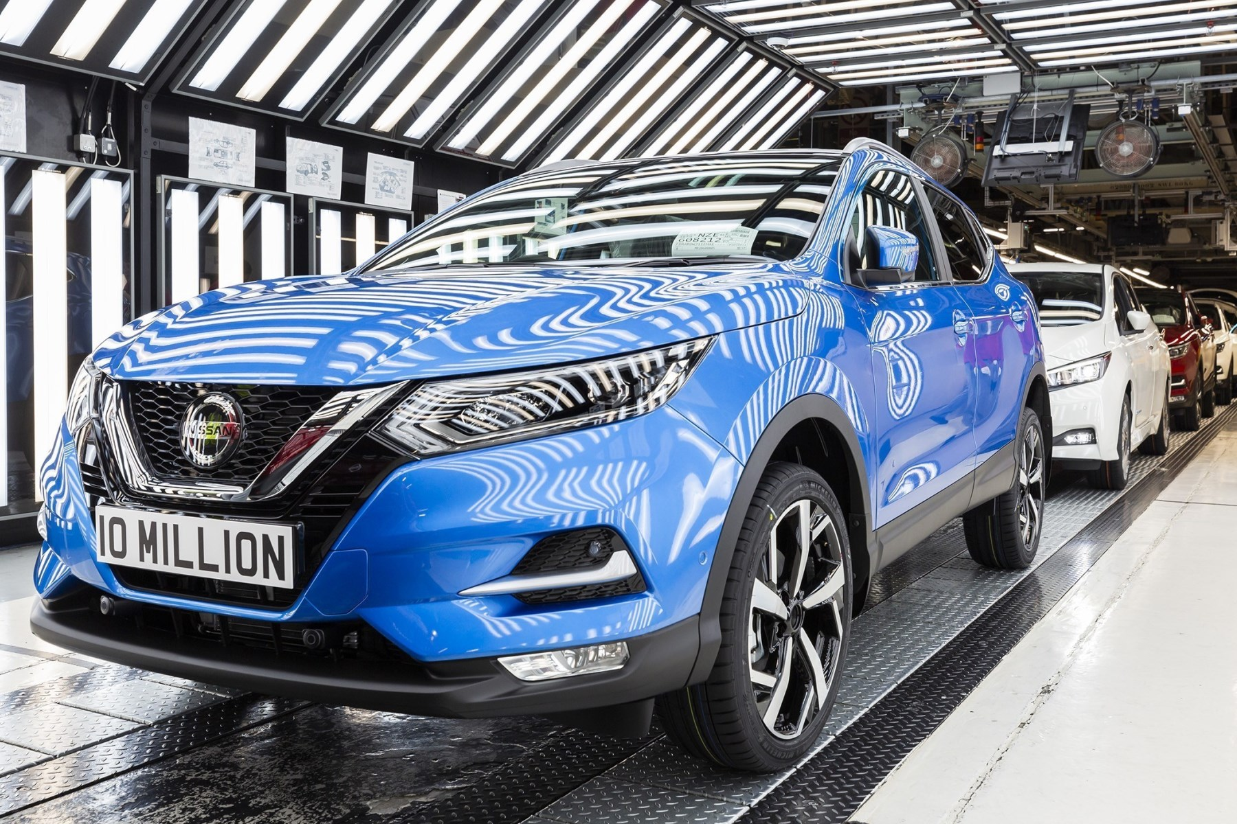 10 millionth Nissan built at Sunderland