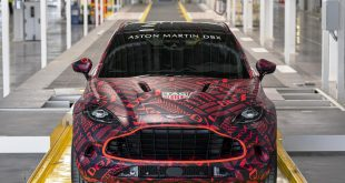 Aston Martin DBX - built at St Athan, Wales