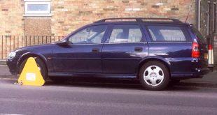 Clamped car - HonestJohn.co.uk