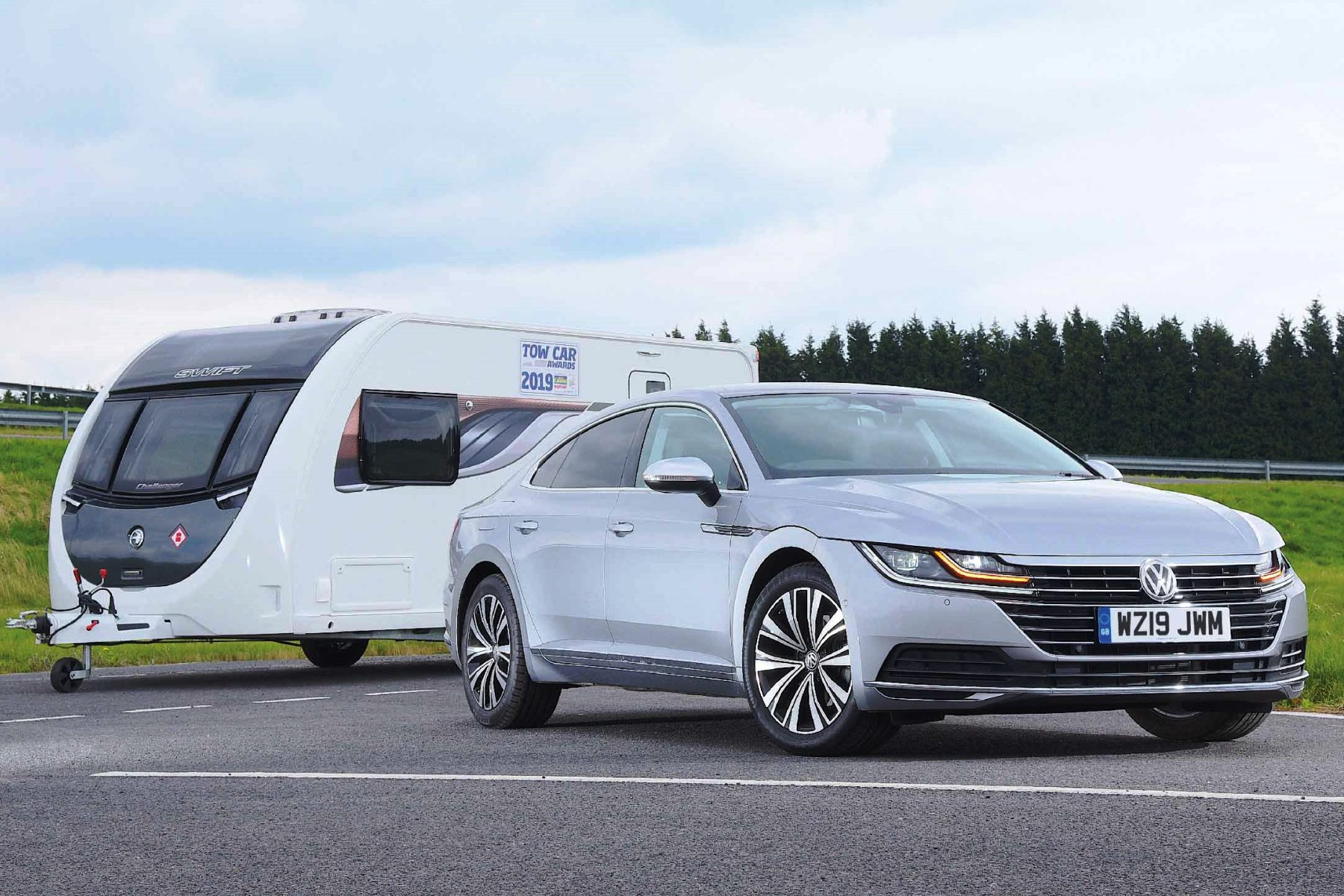 Volkswagen Arteon - Winner Tow Car Awards 2019