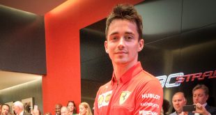 Charles Leclerc has officially opened the new H.R. Owen Ferrari Mayfair showroom in London