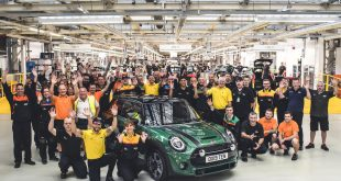 10 millionth MINI made at Plant Oxford