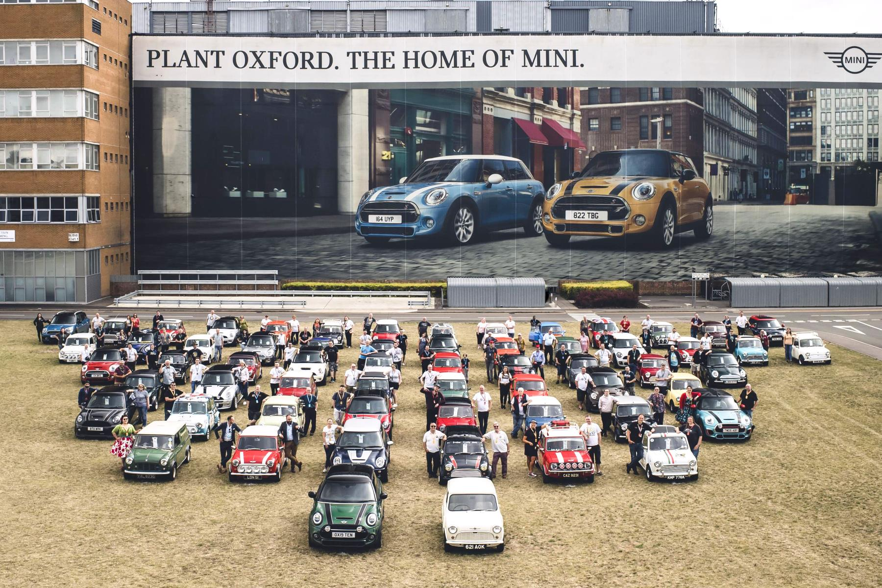 10 millionth MINI - Plant Oxford