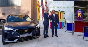FC Barcelona and CUPRA kick off new partnership